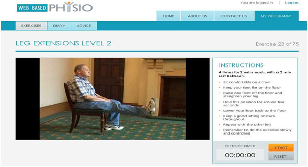 remote physiotherapy